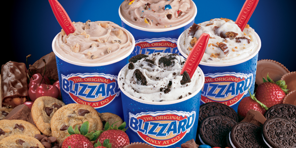 free blizzard at dairy queen