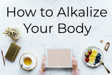 how to alkalize your body