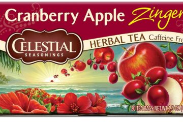 Celestial Herbal Tea Cranberry Apple on Amazon