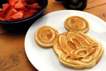 Mickey Mouse Disney Waffle Maker