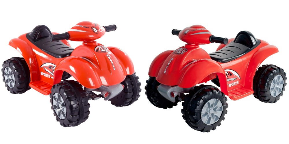 lil' rider ride on toy quad battery powered ride on ATV four wheeler