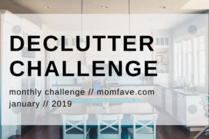 clean with me declutter challenge