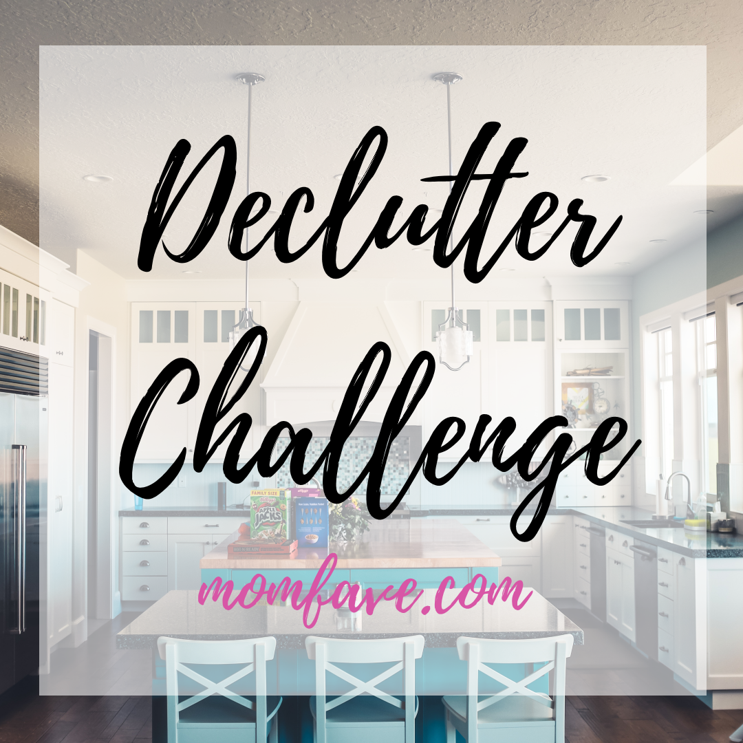 declutter challenge clean with me