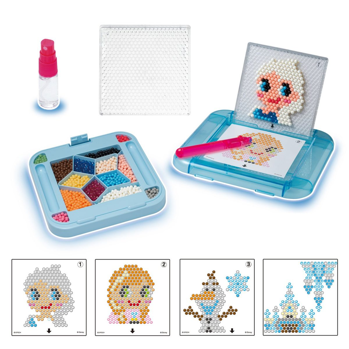 frozen aqua beads play set
