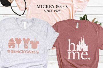 Theme Park Disney Inspired Tees