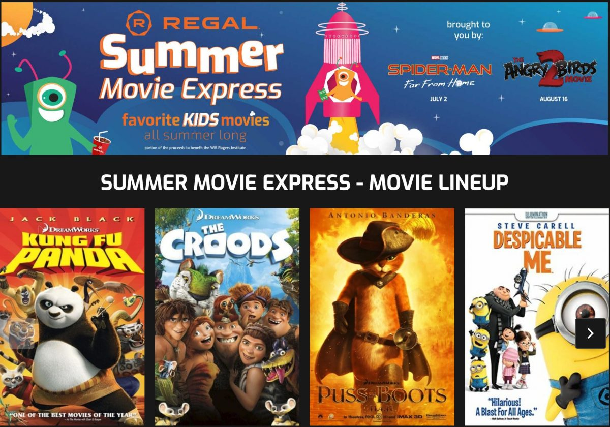 Dollar Movies Regal Summer Express