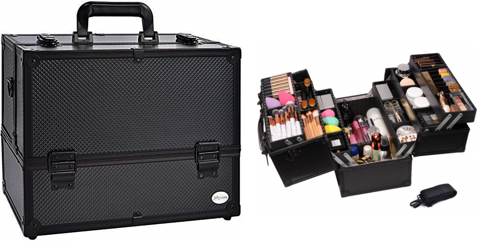 train case makeup case teacher survival kit
