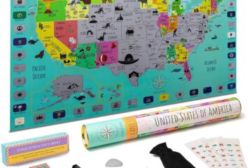 USA Scratch Off Map