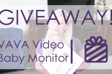 vava baby video monitor giveaway
