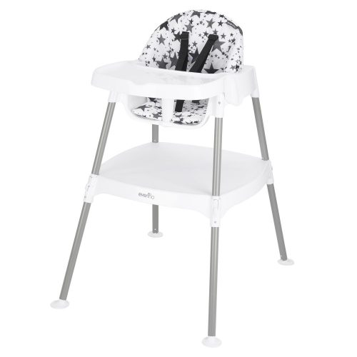 Evenflo 4-in-1 Eat & Grow Convertible High Chair, Pop Star
