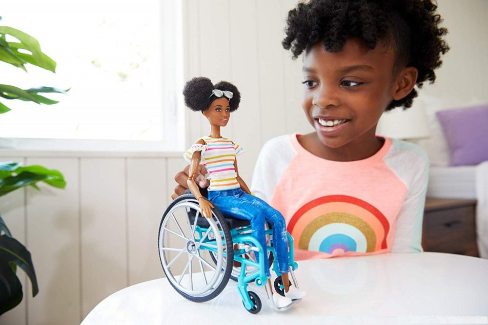wheel chair barbie dolls