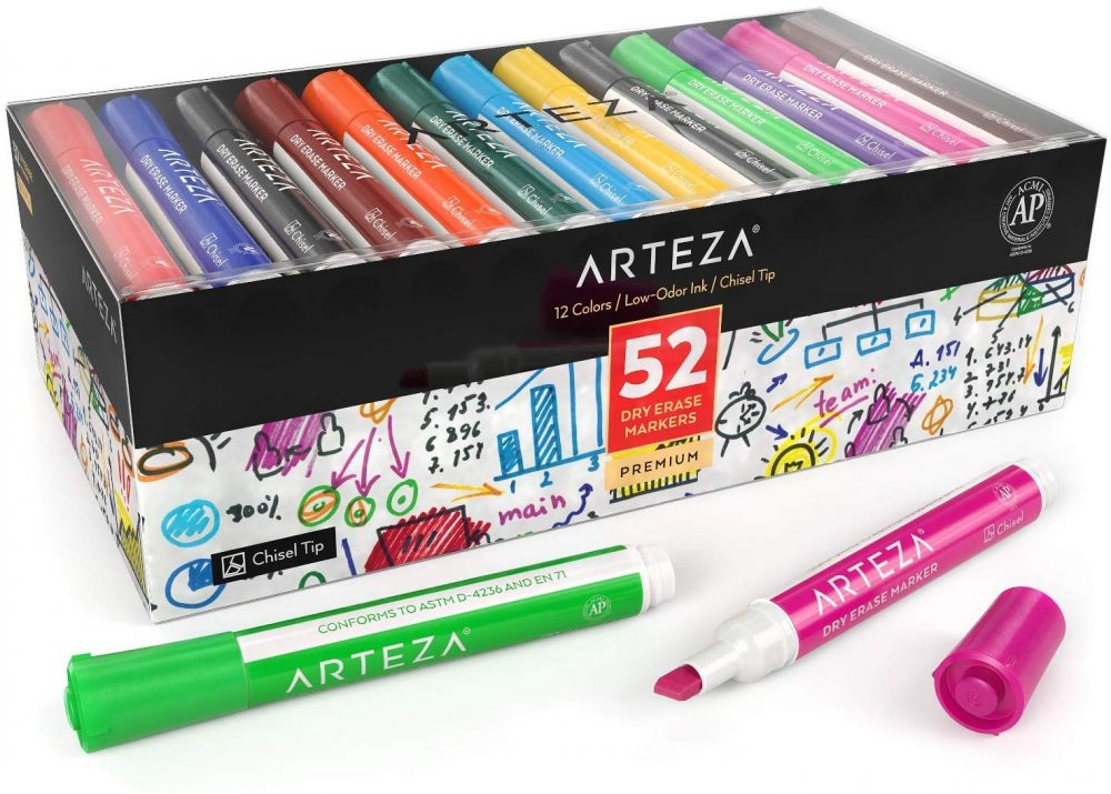 arteza dry erase markers on sale