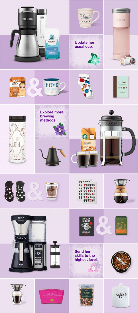 Mothers Day Gift Ideas at Target Coffee