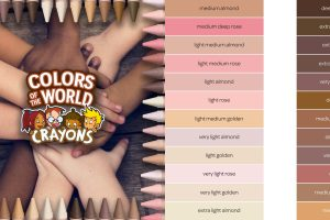 crayola colors of the world crayons set