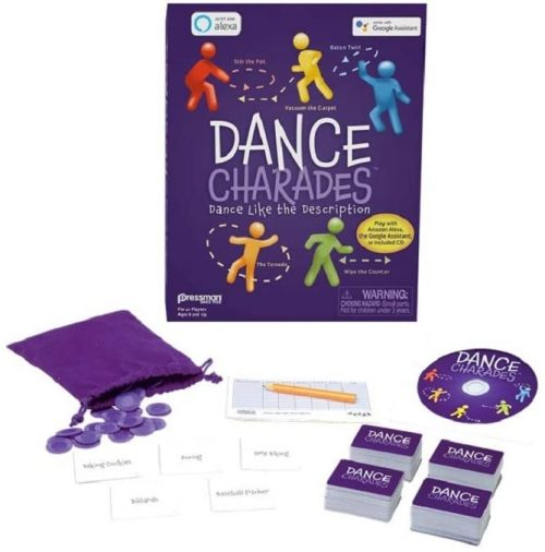 dance charades games